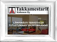 Referenssi Takkamestarit Kohonen Oy